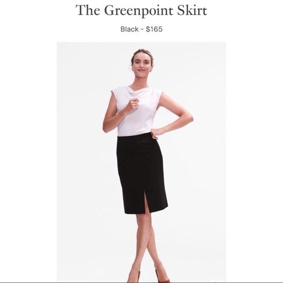 MM Lafleur Dresses & Skirts - 🆕 mm.lafleur—The Greenpoint Skirt in Black—NWT